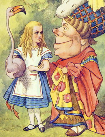 Alice-With-The-Duchess,-Illustration-From-Alice-In-Wonderland-By-Lewis-Carroll-1832-9