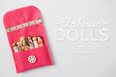 ClothespinDolls